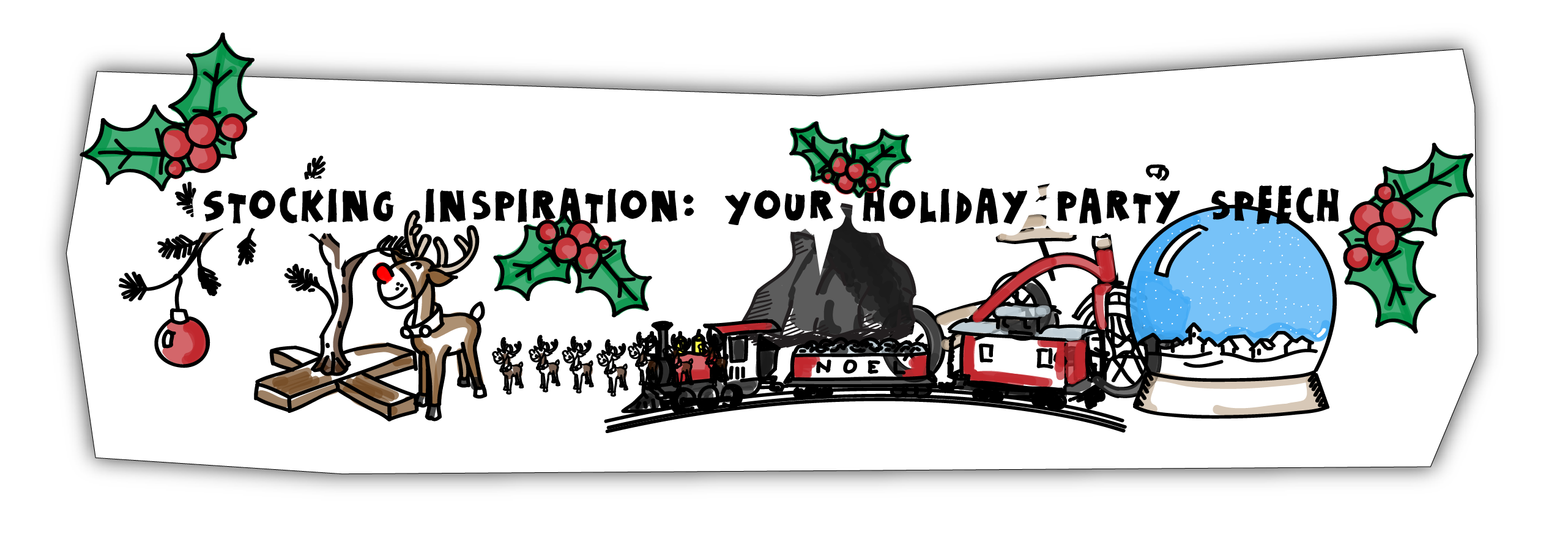 Christmas Party Speeches Part - 20: Stocking Inspiration: Your Holiday Party Speech